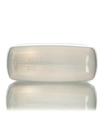 32 oz natural-colored HDPE plastic f-style container with 33-400 neck finish
