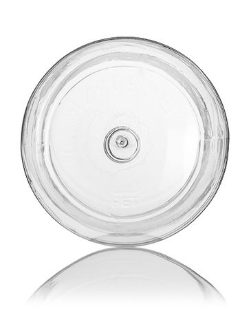 32 oz clear PET plastic wide-mouth container with 89-400 neck finish