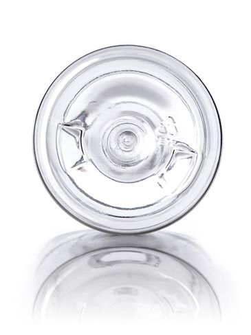 16 oz clear PET plastic bullet round bottle with 28-410 neck finish