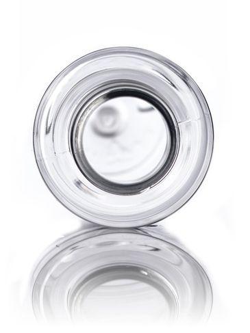 4 oz clear PET plastic slim cylinder round bottle with 24-410 neck finish