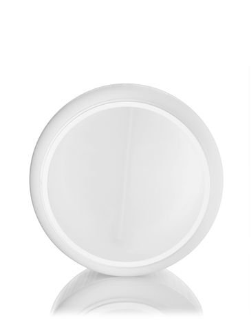 2000 cc white HDPE plastic wide-mouth container with 110-400 neck finish
