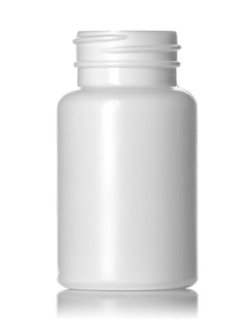120 cc white HDPE plastic pill packer bottle with 38-400 neck finish