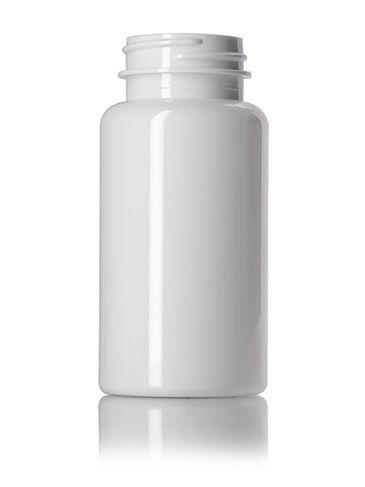 150 cc white PET plastic pill packer bottle with 38-400 neck finish