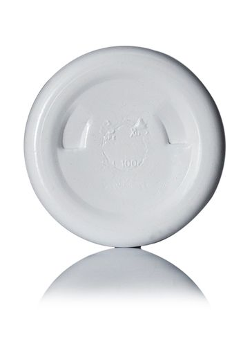 100 cc white HDPE plastic pill packer bottle with 38-400 neck finish