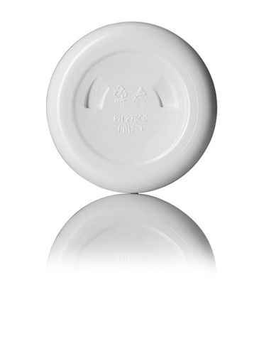 275 cc white HDPE plastic pill packer bottle with 45-400 neck finish