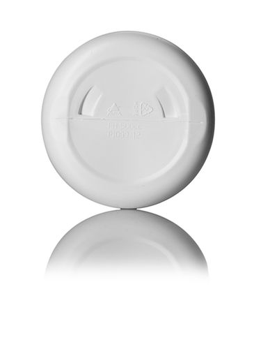 500 cc white HDPE plastic pill packer bottle with 53-400 neck finish