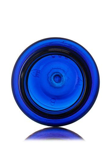 75 cc cobalt blue PET plastic pill packer bottle with 33-400 neck finish
