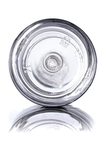 40 cc clear PET plastic pill packer bottle with 28-400 neck finish