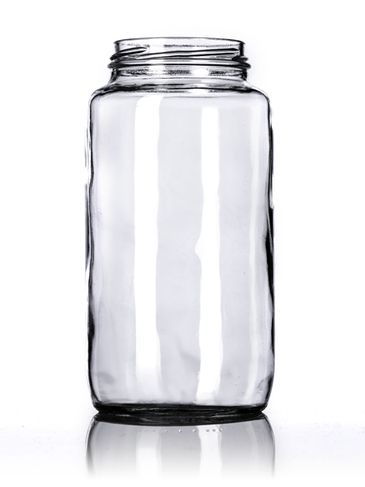 32 oz clear glass paragon jar with 70TW neck finish