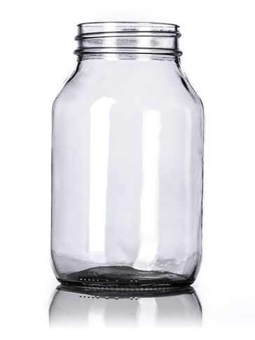 32 oz clear glass jar with 70-450G neck finish