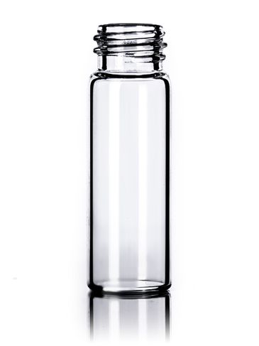 1 dram clear glass vial with 13-425 neck finish