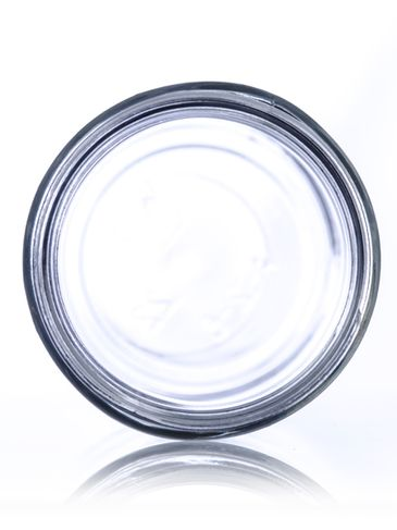 12 oz clear glass paragon jar with 63-400 neck finish