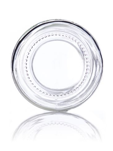 16 oz clear glass paragon jar with 63TW neck finish