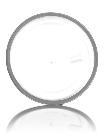 2 oz natural-colored PP plastic single wall jar with 48-400 neck finish