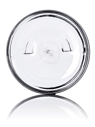 6 oz clear PET plastic single wall jar with 70-400 neck finish