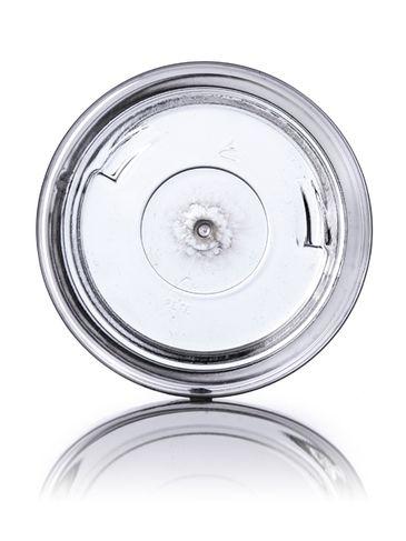 8 oz clear PET plastic tuscany jar with 70-400 neck finish