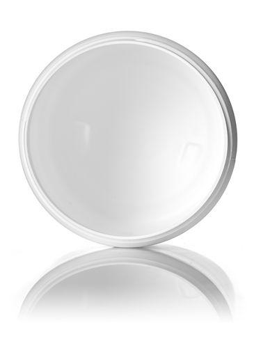 19 oz white HDPE plastic single wall jar with 89-400 neck finish