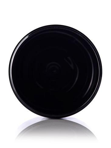 19 oz black PET plastic single wall jar with 89-400 neck finish