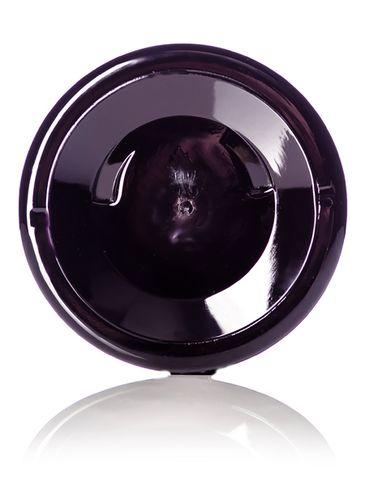 19 oz dark amber PET plastic single wall jar with 89-400 neck finish