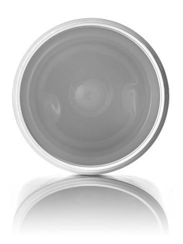 32 oz white PET plastic single wall jar with 89-400 neck finish