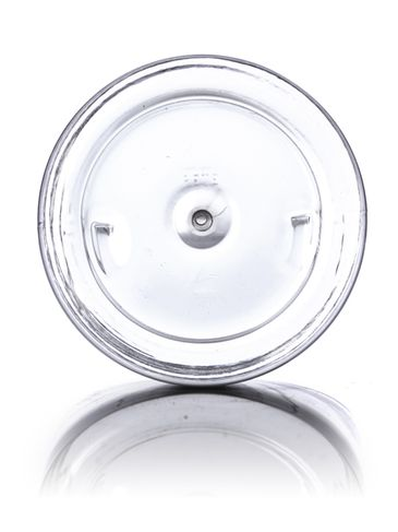 32 oz clear PET plastic single wall jar with 89-400 neck finish
