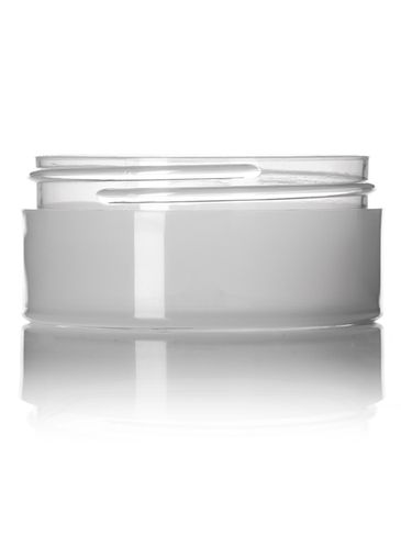 2 oz natural-colored PP plastic thick wall jar with 70-400 neck finish