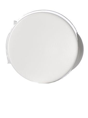White PP plastic 20-410 smooth skirt hinged flip top snap cap dispensing cap