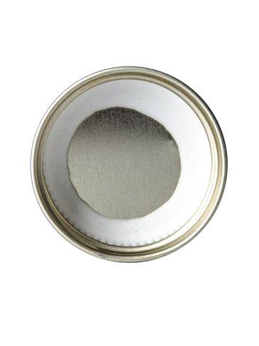 Gold metal 33-400 lid with standard plastisol liner