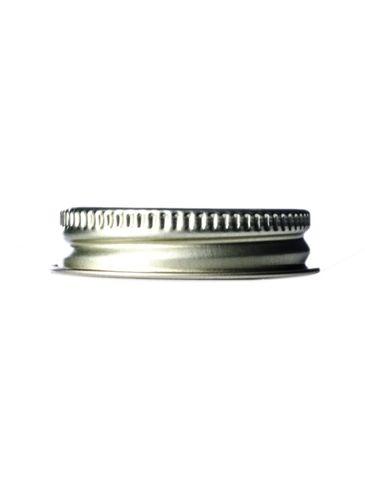 Gold metal 38-400 lid with standard plastisol liner