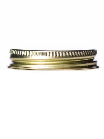 Gold metal 48-400 lid with standard plastisol liner