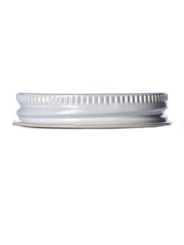 White metal 48-400 lid with standard plastisol liner