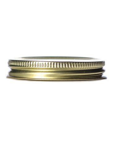 Gold metal 58-400 lid with standard plastisol liner