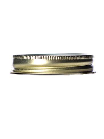 Gold metal 70-450G lid with standard plastisol liner