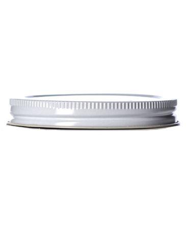 White metal 89-400 lid with standard plastisol liner