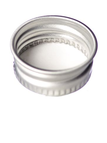 Silver aluminum 20-400 lid with foam liner