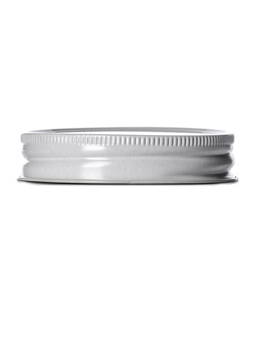 White metal 70-450G lid with standard plastisol liner