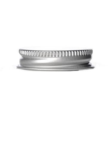Silver aluminum 38-400 lid with foam liner
