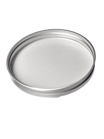 Silver aluminum 89-400 lid with foam liner