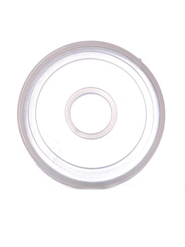 Natural-colored PP plastic 24 mm snap on shaker fitment