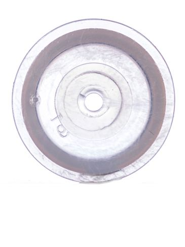 Natural-colored LDPE plastic 24mm orifice reducer