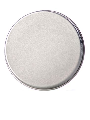 Silver aluminum 48-400 lid with foam liner