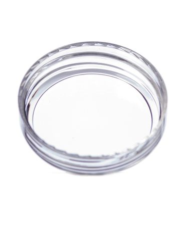Clear PS plastic 43-400 unlined dome lid