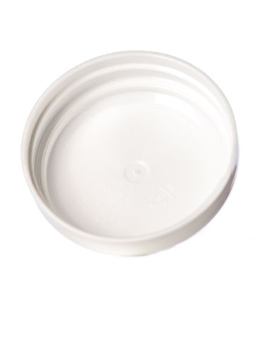 White PP plastic 53-400 unlined dome lid