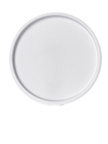 White PVC plastic 58 mm sealing disc