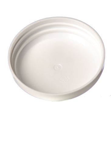 White PP plastic 70-400 unlined dome lid