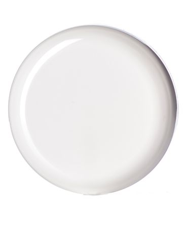White PP plastic 89-400 unlined dome lid
