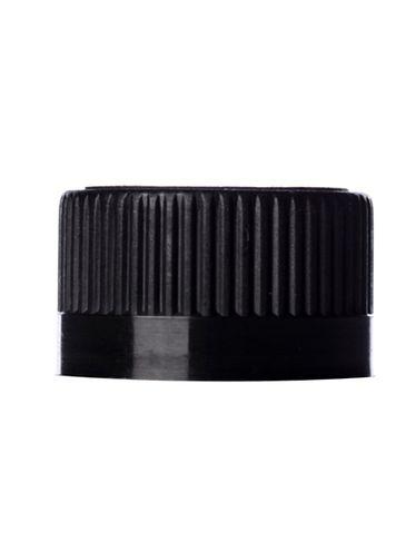 Black PP plastic 20-400 child-resistant unlined lid