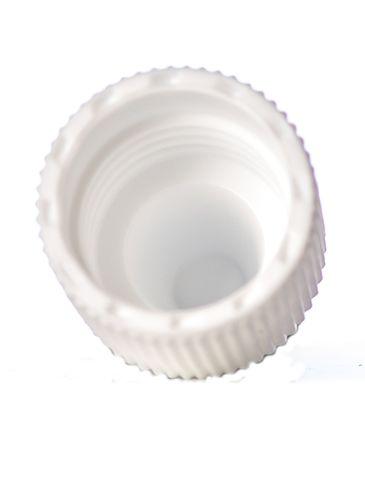 White PP plastic 15-415 dropper tip cap