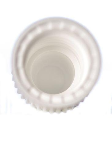 White PP plastic 8-425 dropper tip cap
