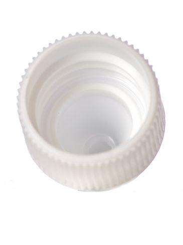 White PP plastic 20-400 dropper tip cap